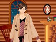 Для дівчаток одевалкі взимку