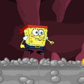 Спанч Боб бродилка: Стрибки в печері