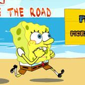 Спанч Боб бродилка: Перейти дорогу