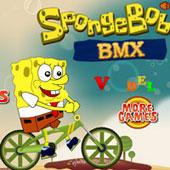 Спанч Боб на велосипеді по дну