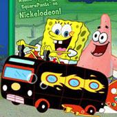 Спанч Боб бродилка: На автобусі по лабіринту
