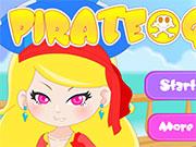 Яскравий наряд для дівчини-пірата