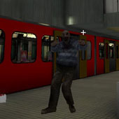 3D стрілялка проти зомбі в підземеллі