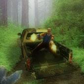 Стрілялка зомбі: На джипі по лісі