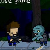Стрілялка проти зомбі в парку
