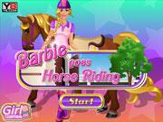 Барбі і конячка