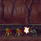 Стрілялки проти зомбі в лісі