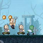 Зомбі тікає від деревенщин