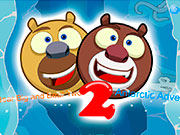 На двох колобки-ведмеді