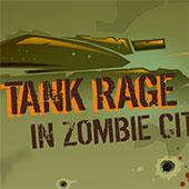 Танк у місті зомбі