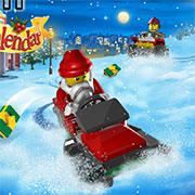Місто лего готується до Різдва